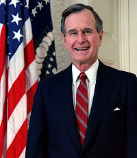 Photograph of George H. W. Bush